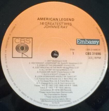 #<Artist:0x00007fcee36eeec0> - American Legend