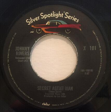 #<Artist:0x00000000055382c0> - Memphis / Secret Agent Man