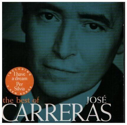 #<Artist:0x00007f9b6d7e4248> - The Best Of José Carreras