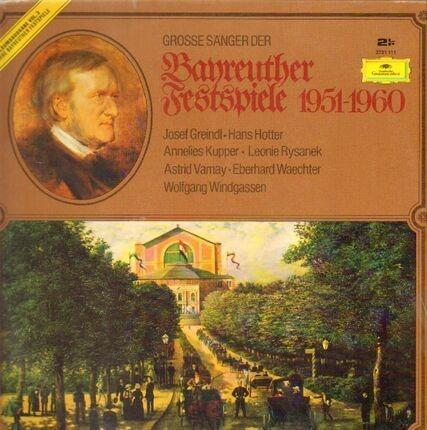 #<Artist:0x00007fce080d5a10> - Grosse Sänger Der Bayeuther Festspiele 1951-1960