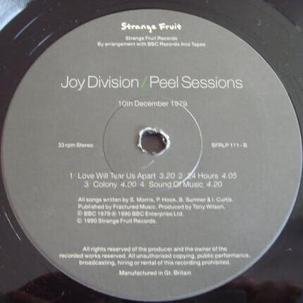 #<Artist:0x00007fc05097cd28> - Peel Sessions