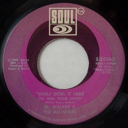 #<Artist:0x00007fcee3968228> - What Does It Take (To Win Your Love) / Brainwasher (Part 1)