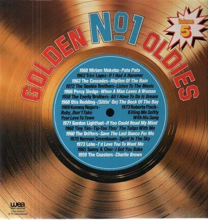 #<Artist:0x00007f920bd2c680> - Golden No. 1 Oldies, Volume 5