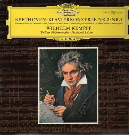 #<Artist:0x00007f14a1ad46b8> - Klavierkonzerte Nr.2, Nr.4, Wilhelm Kempf, Berliner Philh., F. Leitner
