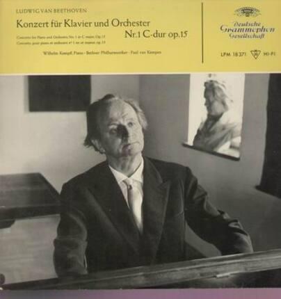 #<Artist:0x00007f3fbcc97310> - Konzerte für Klavier und Orchester Nr.1; W. Kempff, P.v. Kempen