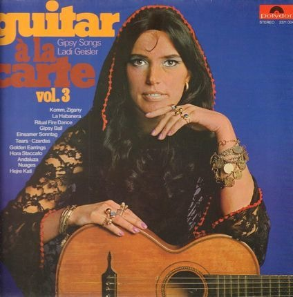 #<Artist:0x0000000006740530> - Guitar a la carte Vol. 3 - Gipsy Songs