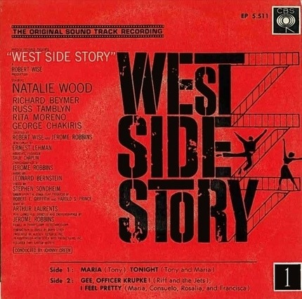 #<Artist:0x00007f740ee443a8> - West Side Story - Vol.1