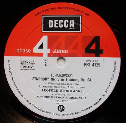 #<Artist:0x0000000007e4b838> - Tchaikovsky Symphony No. 5 In E Minor, Op. 64