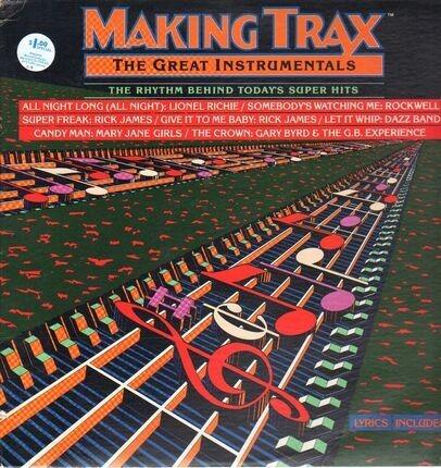 #<Artist:0x00007f1fded7eb00> - Making Trax - The Great Instrumentals