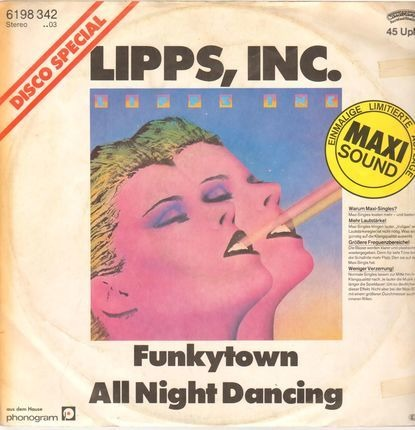 #<Artist:0x00007f73ebc7d808> - funkytown / all night dancing