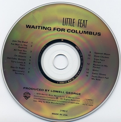 #<Artist:0x00007fceb81f8658> - Waiting for Columbus