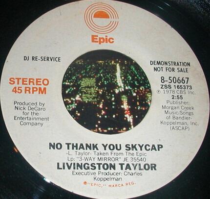 #<Artist:0x00007fce08ac44e0> - No Thank You Skycap