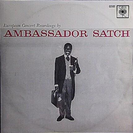 #<Artist:0x00007fcee16a85f8> - Ambassador Satch