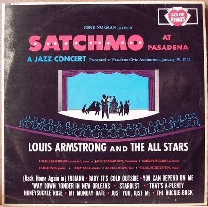 #<Artist:0x00007f0f902604c0> - Satchmo at Pasadena