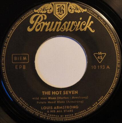 #<Artist:0x00007fcee09adad8> - The Hot Seven