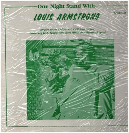 #<Artist:0x00007f60e0e16f98> - One Night Stand With Louis Armstrong