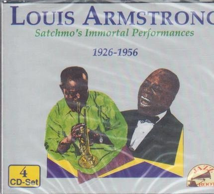 #<Artist:0x0000000006c50e08> - Satchmo's Immortal Performances