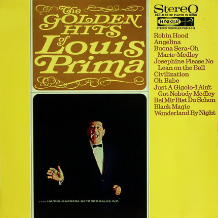 #<Artist:0x00007f389bc16aa8> - The Golden Hits Of Louis Prima