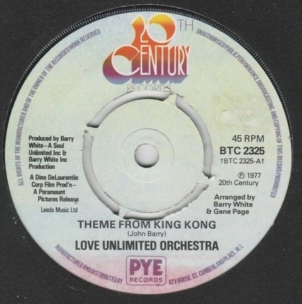 #<Artist:0x00007f1421965398> - Theme From King Kong