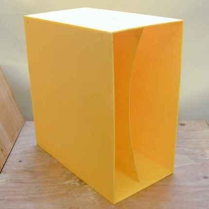 #<Artist:0x00007fcee3d169b0> - in gelb, für ca. 40 LPs