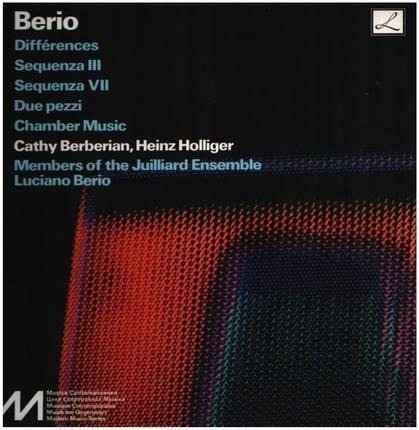 #<Artist:0x00007f452af7c1c0> - Différences / Sequenza III & IV / Due Pezzi / Chamber Music