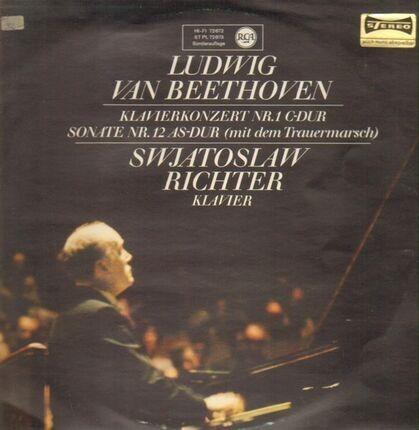 #<Artist:0x00007fd6d7f224d8> - Klavierkonzert Nr. 1 c-dur / Sonate Nr. 12 as-dur