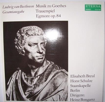#<Artist:0x00007f3f26b28498> - Musik zu Goethes Trauerspiel Egmont op.84