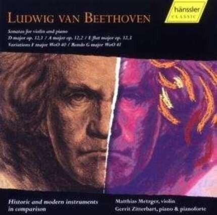 #<Artist:0x00007f7dfabab1a0> - Sonaten für Violine und Klavier/Fortepiano
