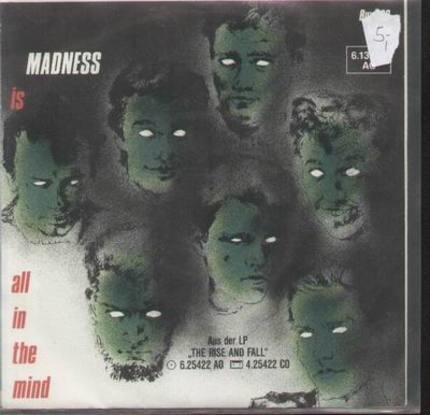 #<Artist:0x00007fcec1f85a10> - Tomorrow's (Just Another Day) / Madness (Is All In The Mind)