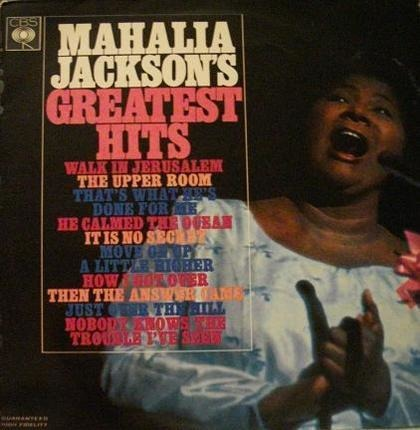 #<Artist:0x00007f40f6cb2418> - Mahalia Jackson's Greatest Hits