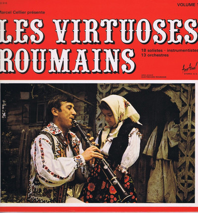 #<Artist:0x00007fd756ada3d8> - Les Virtuoses Roumains - Volume 1