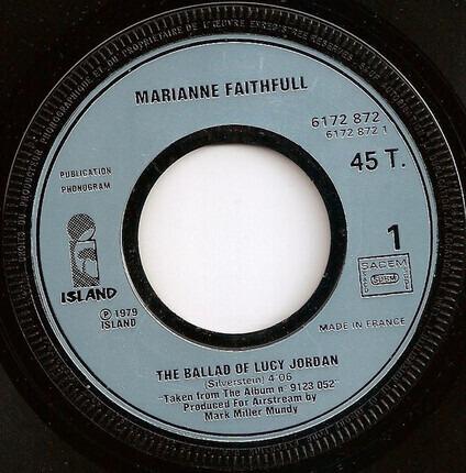 #<Artist:0x00007fcec05b9b18> - The Ballad Of Lucy Jordan