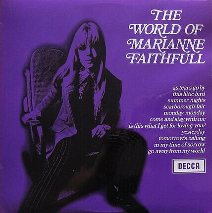 #<Artist:0x00007f914494a930> - The World Of Marianne Faithfull
