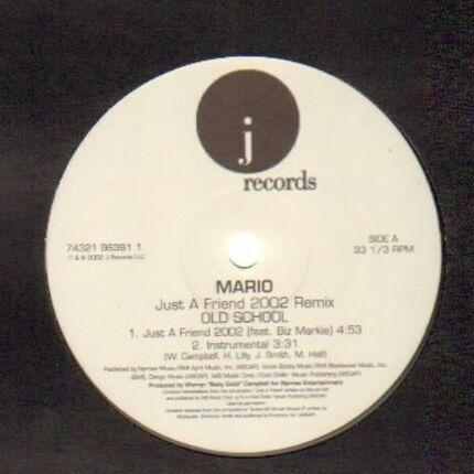 #<Artist:0x00007f60c8a9b6d8> - Just A Friend (2002 Remix)