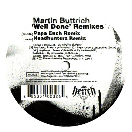 #<Artist:0x00007fccc8a542d0> - Well Done Remixes
