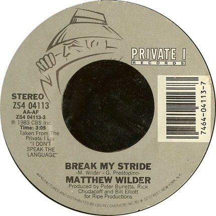 #<Artist:0x00007fcee217cb50> - Break My Stride