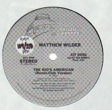 #<Artist:0x00007f5d08b72930> - The Kid's American