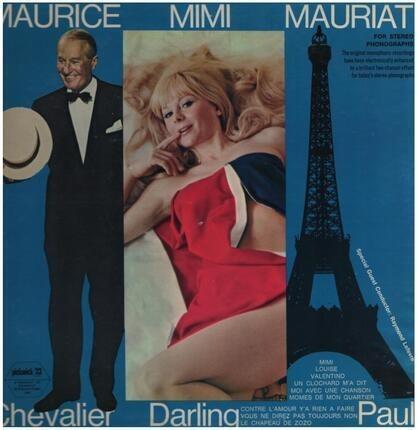 #<Artist:0x00007f3557b421f0> - Maurice Chevalier