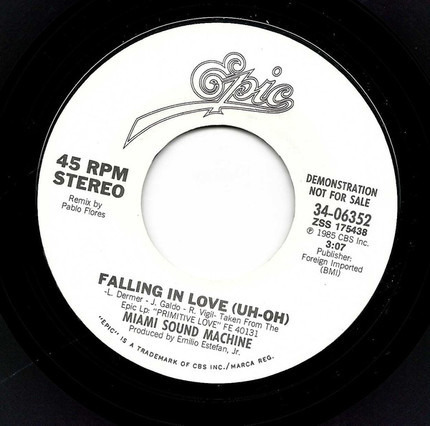 #<Artist:0x00007fcee38d2e58> - Falling In Love (Uh-Oh)