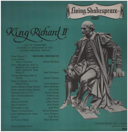 #<Artist:0x00007fcee31d0ce0> - King Richard II