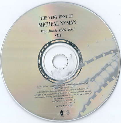 #<Artist:0x00007fcee3a12ac0> - The Very Best Of Michael Nyman - Film Music 1980-2001
