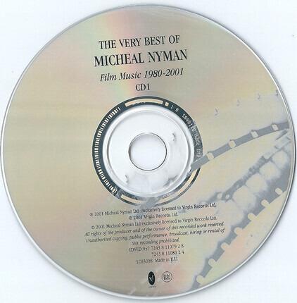 #<Artist:0x00007fcee1e445a0> - The Very Best Of Michael Nyman - Film Music 1980-2001