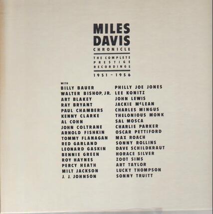 #<Artist:0x00007f8e48c44c20> - Chronicles, The Complete Prestige Recordings