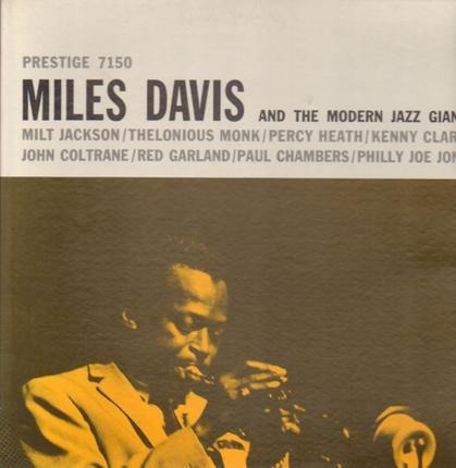 #<Artist:0x00007ff0dcb2f438> - Miles Davis and the Modern Jazz Giants