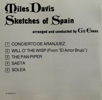 #<Artist:0x00007fcec3046868> - Sketches of Spain