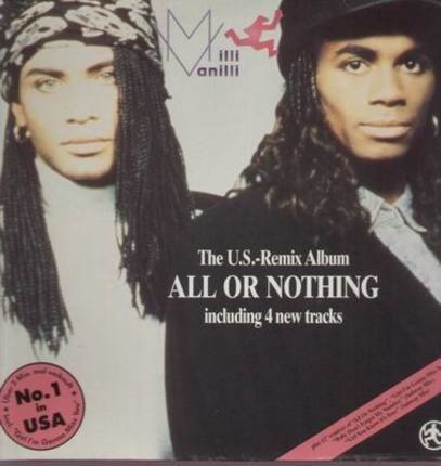 #<Artist:0x00007f25334b2508> - All Or Nothing - The U.S. Remix Album