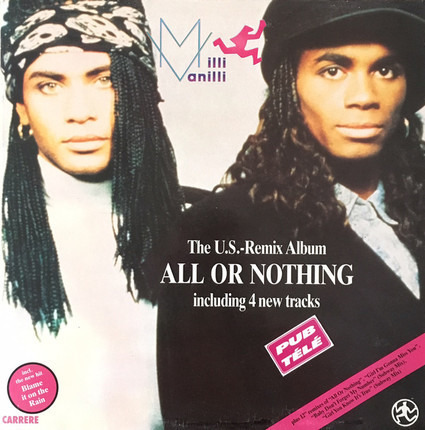 #<Artist:0x00007f89ad8acb98> - All Or Nothing (The U.S. Remix Album)