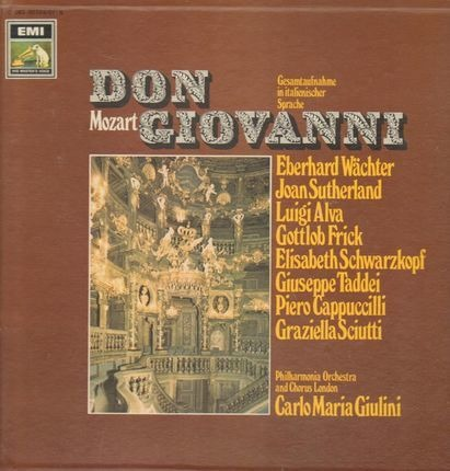 #<Artist:0x00007f4af5765a60> - Don Giovanni (Gesamtaufnahme, ital),, Philh Orch and Chorus London, C.M.Giulini