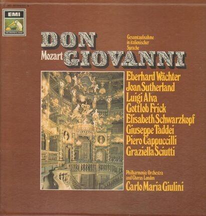 #<Artist:0x00007f412d588bd8> - Don Giovanni (Gesamtaufnahme, ital),, Philh Orch and Chorus London, C.M.Giulini