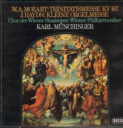 #<Artist:0x00007f2951e37f20> - Trinitatismesse KV 167 / Kleine Orgelmesse,, Münchinger, Chor der Wiener Staats